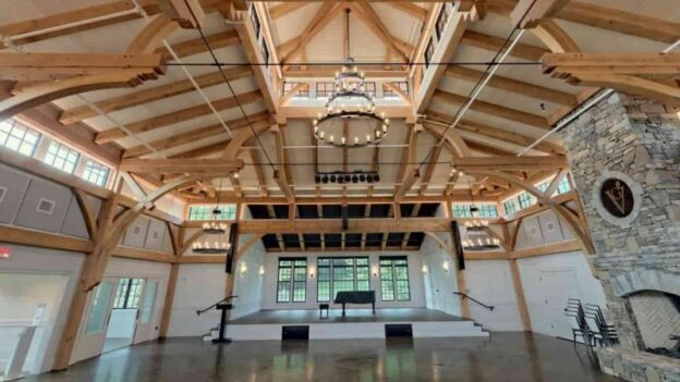 The Village Green Commons Hall (image: MoreSun Timber Frames)