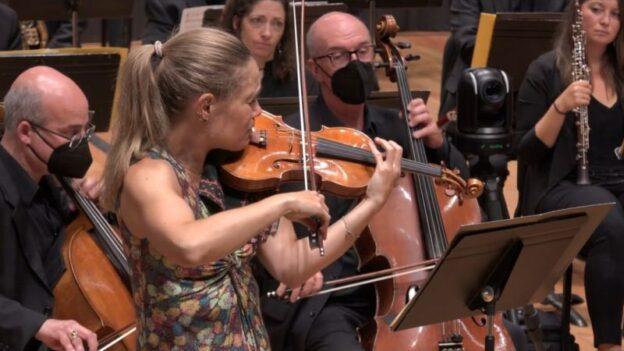 Violinist Leila Josefowicz (GTMF)